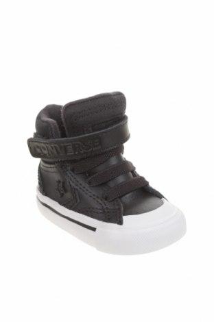 Детски обувки Converse, Размер 18, Цвят Син, Естествена кожа, Цена 30,02лв.