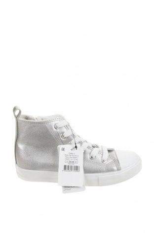 Детски обувки Cotton On, Размер 33, Цвят Сребрист, Еко кожа, Цена 28,42лв.