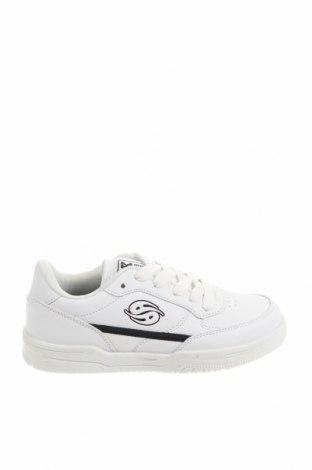 Детски обувки Dockers by Gerli, Размер 31, Цвят Бял, Еко кожа, Цена 28,42лв.