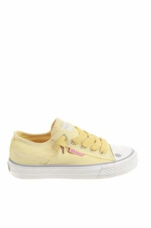 Детски обувки Dockers by Gerli, Размер 31, Цвят Жълт, Текстил, Цена 16,72лв.