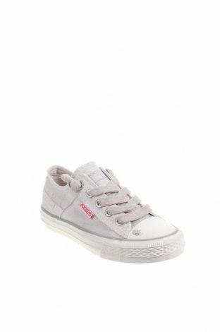 Детски обувки Dockers by Gerli, Размер 31, Цвят Сив, Текстил, Цена 21,07лв.