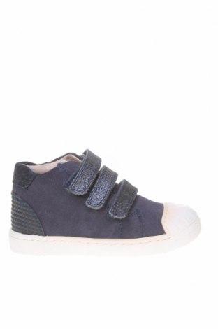 Dětské boty  Garvalin, Velikost 23, Barva Modrá, Přírodní velur , Eko kůže, textile , Cena  387,00Kč