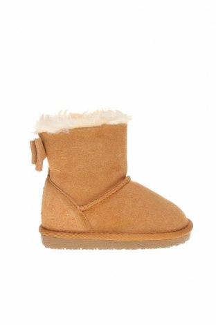 Dětské boty  Gooce, Velikost 25, Barva Hnědá, Přírodní velur , Cena  561,00Kč