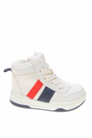 Детски обувки H&M, Размер 18, Цвят Бял, Еко кожа, Цена 29,70лв.