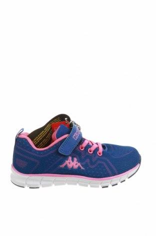 Детски обувки Kappa, Размер 30, Цвят Син, Еко кожа, текстил, Цена 16,91лв.