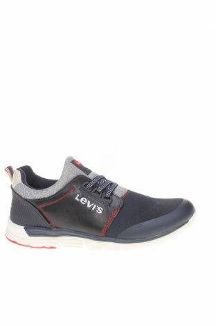 Детски обувки Levi's, Размер 37, Цвят Син, Текстил, еко кожа, Цена 101,25лв.