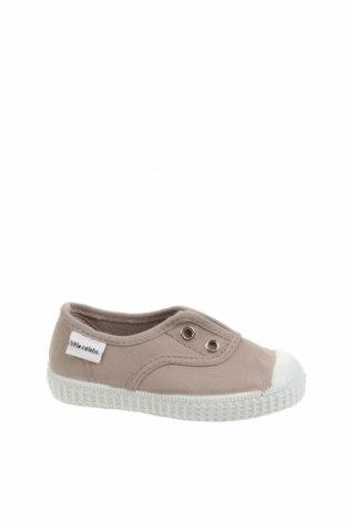 Детски обувки Little Celebs, Размер 21, Цвят Бежов, Текстил, Цена 16,66лв.