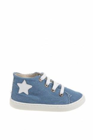Детски обувки Little Celebs, Размер 25, Цвят Син, Текстил, Цена 16,66лв.