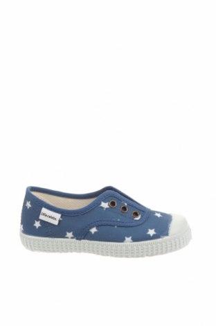 Детски обувки Little Celebs, Размер 25, Цвят Син, Текстил, Цена 18,62лв.