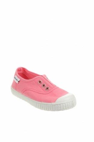 Детски обувки Little Celebs, Размер 25, Цвят Розов, Текстил, Цена 22,05лв.