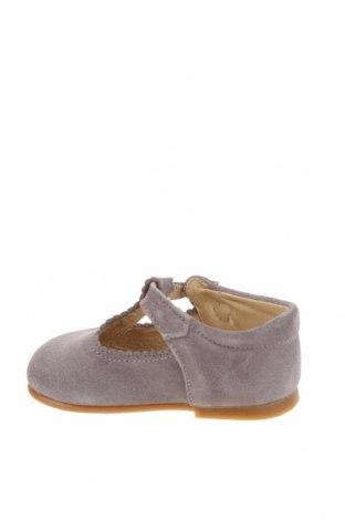 Детски обувки Lola Palacios, Размер 20, Цвят Сив, Естествен велур, Цена 39,36лв.