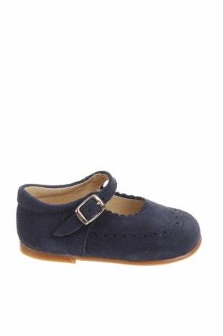 Детски обувки Lola Palacios, Размер 20, Цвят Син, Естествен велур, Цена 13,35лв.