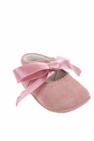 Детски обувки Lola Palacios, Размер 16, Цвят Розов, Естествен велур, Цена 40,05лв.