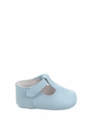 Детски обувки Lola Palacios, Размер 16, Цвят Син, Естествена кожа, Цена 17,00лв.