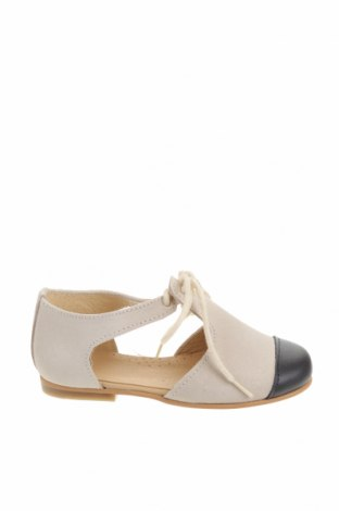 Детски обувки Lola Palacios, Размер 24, Цвят Бежов, Естествен велур, естествена кожа, Цена 38,27лв.