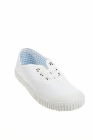 Детски обувки Lola Palacios, Размер 29, Цвят Бял, Текстил, Цена 26,55лв.