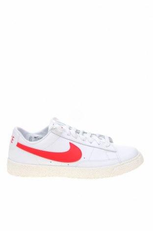 Dětské boty  Nike, Velikost 38, Barva Bílá, Pravá kůže, Cena  605,00Kč