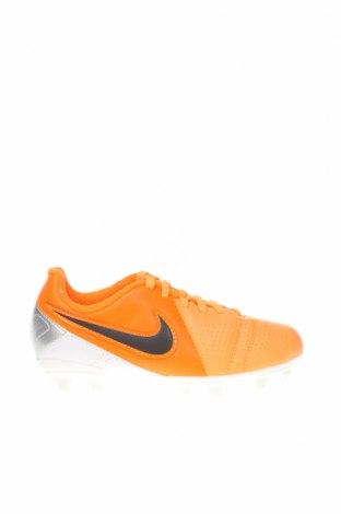 Детски обувки Nike, Размер 31, Цвят Оранжев, Полиуретан, еко кожа, Цена 35,97лв.