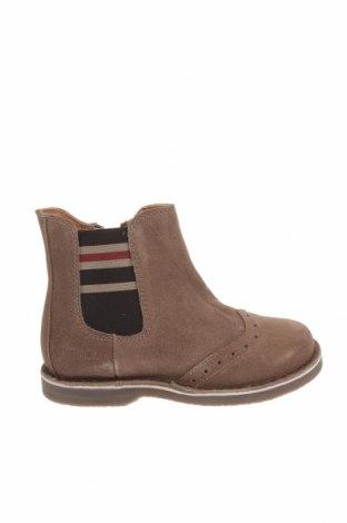 Детски обувки Oca-Loca, Размер 27, Цвят Бежов, Естествен велур, Цена 149,00лв.