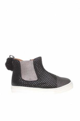 Детски обувки Oca-Loca, Размер 27, Цвят Черен, Естествен велур, текстил, Цена 36,12лв.