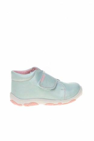 Детски обувки Pablosky, Размер 22, Цвят Зелен, Естествена кожа, Цена 46,87лв.