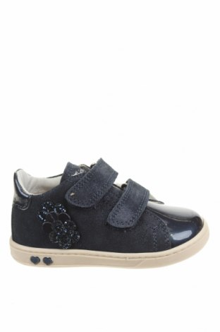 Детски обувки Primigi, Размер 23, Цвят Син, Естествен велур, еко кожа, Цена 66,75лв.