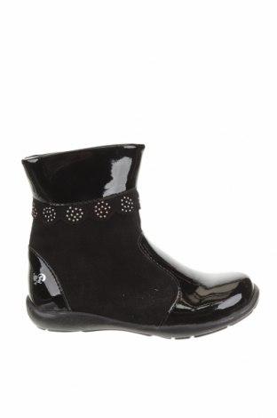 Детски обувки Primigi, Размер 25, Цвят Черен, Естествен велур, еко кожа, Цена 96,75лв.