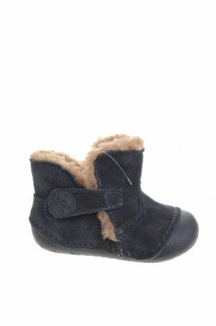 Детски обувки Primigi, Размер 18, Цвят Син, Естествен велур, Цена 64,50лв.