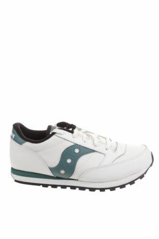 Детски обувки Saucony, Размер 36, Цвят Бял, Естествена кожа, еко кожа, Цена 44,70лв.