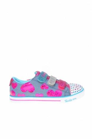 Încălțăminte pentru copii Skechers, Mărime 35, Culoare Multicolor, Textil, Preț 129,94 Lei