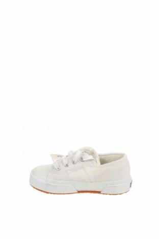 Детски обувки Superga, Размер 26, Цвят Екрю, Текстил, Цена 31,05лв.