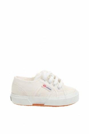 Детски обувки Superga, Размер 23, Цвят Екрю, Текстил, Цена 31,05лв.