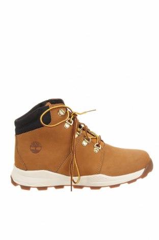 Детски обувки Timberland, Размер 37, Цвят Жълт, Естествена кожа, Цена 159,00лв.