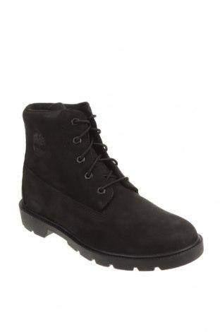 Детски обувки Timberland, Размер 38, Цвят Черен, Естествена кожа, Цена 289,00лв.