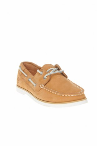 Детски обувки Timberland, Размер 31, Цвят Бежов, Естествена кожа, Цена 74,50лв.