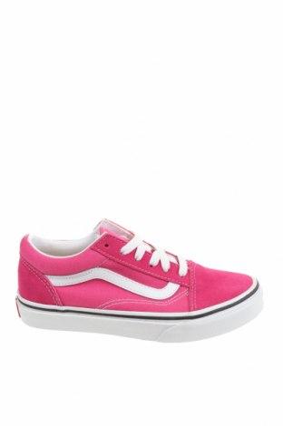 Детски обувки Vans, Размер 33, Цвят Розов, Текстил, естествен велур, Цена 74,25лв.