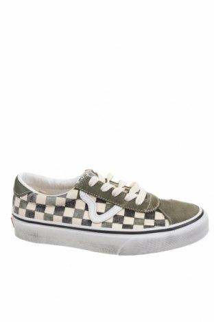 Детски обувки Vans, Размер 34, Цвят Зелен, Текстил, естествен велур, Цена 70,95лв.