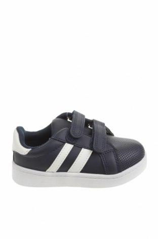 Детски обувки ZY kids, Размер 24, Цвят Син, Еко кожа, Цена 36,75лв.