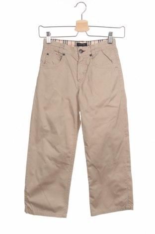 Dětské kalhoty  Burberry Kids, Velikost 7-8y/ 128-134 cm, Barva Béžová, Bavlna, Cena  485,00Kč