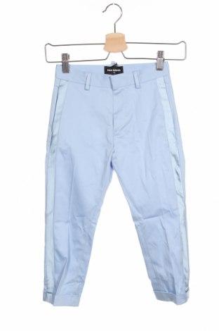 Pantaloni pentru copii Dsquared2, Mărime 5-6y/ 116-122 cm, Culoare Albastru, 96% bumbac, 4% elastan, Preț 188,88 Lei