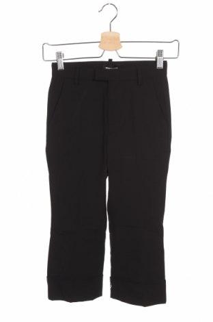Pantaloni pentru copii Dsquared2, Mărime 7-8y/ 128-134 cm, Culoare Negru, 95% lână, 5% elastan, Preț 188,88 Lei