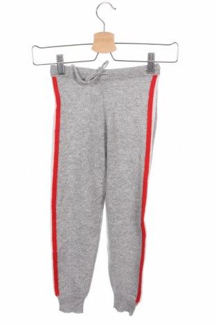 Παιδικό παντελόνι Just Cashmere, Μέγεθος 7-8y/ 128-134 εκ., Χρώμα Γκρί, Κασμίρι, Τιμή 29,23€