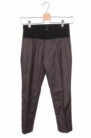 Pantaloni pentru copii N 21, Mărime 7-8y/ 128-134 cm, Culoare Gri, 64% poliester, 25% viscoză, 9% lână, 2% elastan, Preț 188,88 Lei