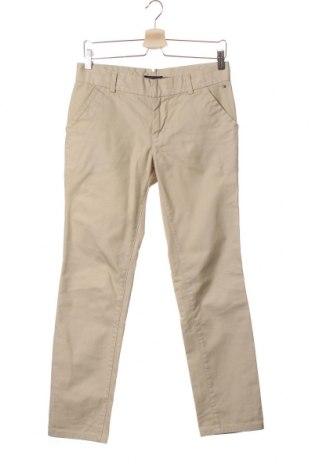Pantaloni pentru copii Tommy Hilfiger, Mărime 12-13y/ 158-164 cm, Culoare Bej, Bumbac, Preț 27,85 Lei