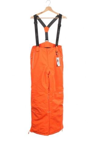 Παιδικό παντελόνι για χειμερινά σπορ Trollkids, Μέγεθος 14-15y/ 168-170 εκ., Χρώμα Πορτοκαλί, Πολυεστέρας, Τιμή 22,02€