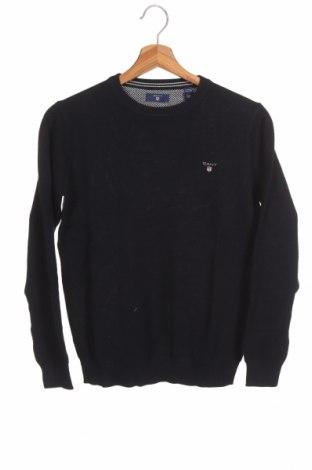 Παιδικό πουλόβερ Gant, Μέγεθος 10-11y/ 146-152 εκ., Χρώμα Μπλέ, Βαμβάκι, Τιμή 34,41€