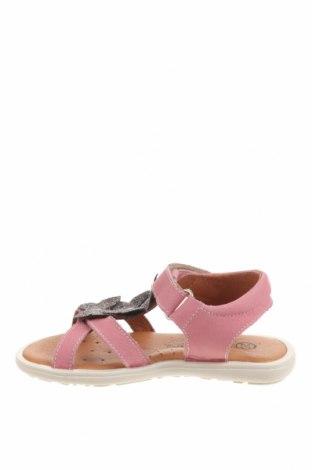 Детски сандали Little Celebs, Размер 25, Цвят Розов, Естествена кожа, Цена 40,02лв.