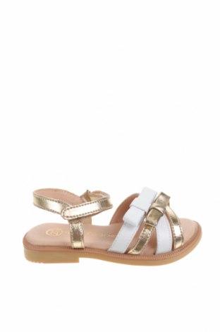 Детски сандали Lola Palacios, Размер 20, Цвят Златист, Естествена кожа, Цена 33,97лв.