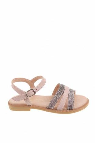 Детски сандали Lola Palacios, Размер 25, Цвят Розов, Естествена кожа, текстил, Цена 26,07лв.