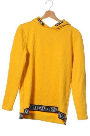 Παιδικό φούτερ Here+There, Μέγεθος 15-18y/ 170-176 εκ., Χρώμα Κίτρινο, 80% βαμβάκι, 20% πολυεστέρας, Τιμή 9,74€